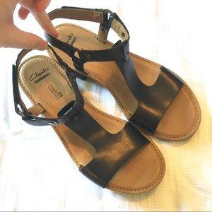 Clarks Heeled Sandals Size 8